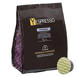 Yespresso Capsule Ginseng Compatibili per Nescafe Dolce Gusto