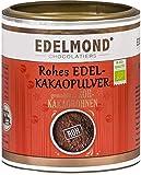 Bio Kakaopulver natürlich und roh von Edelmond. 100% pur + entölt als Rohkost oder Smoothie cacao. AAA Chocolatiers Qualität (200GR)