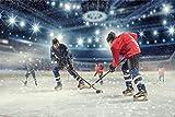 Eishockey Sport Halle Spielfeld XXL Wandbild Kunstdruck