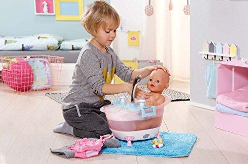 zapf creation baby born interactive bathtub with foam