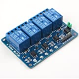 SunFounder Lab Modulo 4 Relè 5V 4 Channels Relay Module for Arduino UNO 2560 1280 ARM PIC AVR STM32