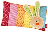 sigikid, Mädchen, Schmuse-Kissen Hase, Rainbow Rabbit, Mehrfarbig, 40991