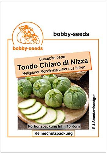 Bobby-Seeds Zucchinisamen Tondo di Nizza – Ronde de Nice 50 Korn
