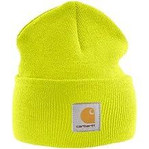 Carhartt Gorra Acrílico - Amarillo sombrero gorra de esquiar logotipo  CHA18BLM 6ca51af9109