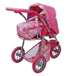 Knorr 17245 Vento - Cochecito de bebé de Juguete, Color Rosa