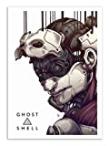 Wall Editions -  Art-Poster - Ghost in the shell - MUTE