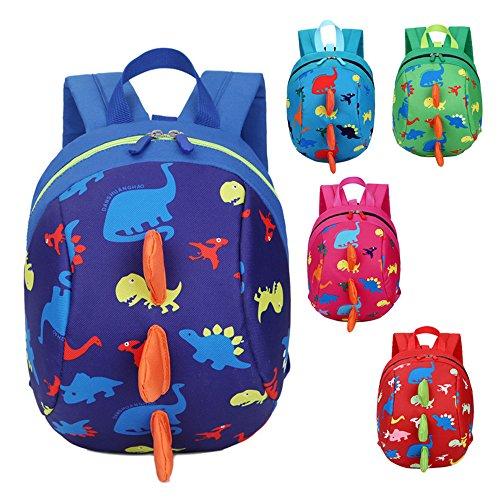 Kindergarten Baby Jungen Mädchen Schuletaschen Dinosaurier Kleinkind Kinder Schultaschen Rucksäcke Himmelblau: 0-3 Jahre
