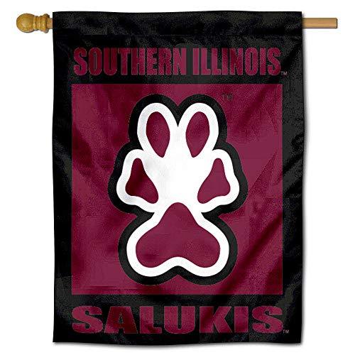 College Flags and Banners Co. Siu Saluki Banner House Flagge Saluki Hat