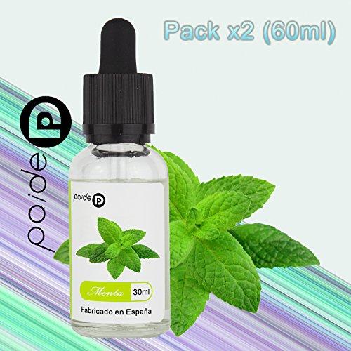 2 x 30ML Paide Premium E-Liquid - Sin nicotina - Líquido