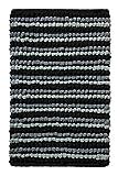 Arch Angel Erzengel Bad Teppich 1pc Pebble Ball Plüsch und Handgefertigt Grau Schwarz Badteppich 50,8x 76,2cm