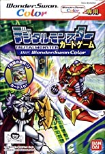 Digital Monster Card Game - wonderswan Color - JAP