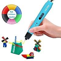 Semblable à une imprimante 3D qui tient dans la main, le stylo 3D convient à tous les loisirs créatifs, le scrapbooking ou les arts plastiques. Pas cher et pratique, Todoxi stylo 3D s'accompagne de nombreux consommables et accessoires pour aller touj...