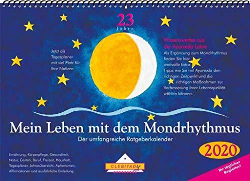 Mein Leben mit dem Mondrhythmus: 2020 Aufstellkalender