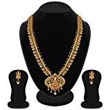 #3: Apara South Temple Necklace Jewellery with Mango Design Chain for Women