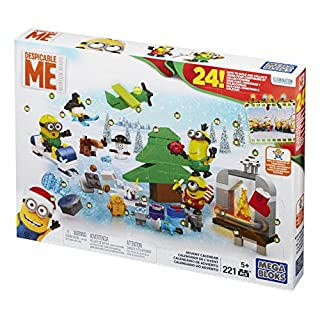 Mega Bloks Despicable Me Minions Advent Calendar