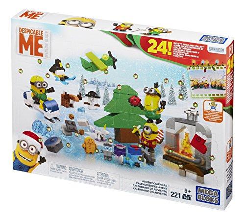 Mattel Mega Bloks CPC57 – Minions Adventskalender