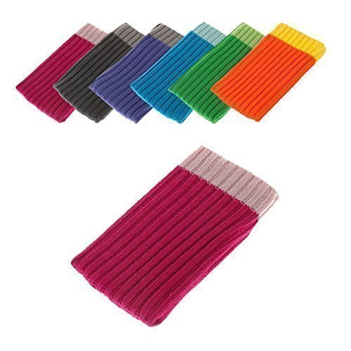 BRALEXX J1144 Textil Socke für Sony Xperia M2 Aqua (Größe: XL) pink Aqua-faceplates