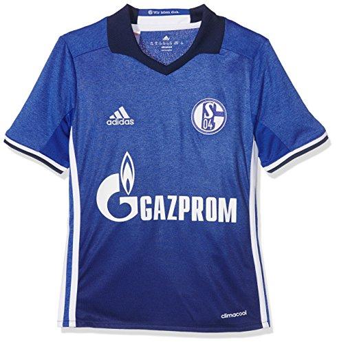 adidas Kinder FC Schalke 04 Heim Trikot, Bold Blue/White, 164