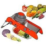 Yougeyou Verstellbare Mandoline Schneidemaschine Küche Edelstahl Handschneider Schredder Julienne Zum Schneiden Essen Obst Gemüse