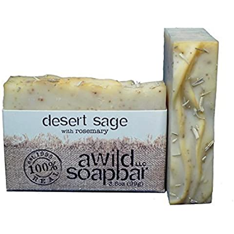 A Wild Soap Bar Desert Sage Natural Soap by A