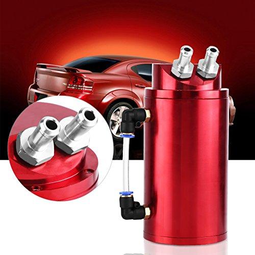 GOTOTOP Récupérateur d'Huile Universel en Aluminium pour Voiture Automobile
