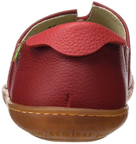 El Naturalista Unisex Adulti N275 Morbido Grano El Viajero Sneakers Rosso (tibet / Grosella)