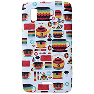 Generic Cover Cases For Micromax Canvas Doodle 3 A102 (Multicolor)