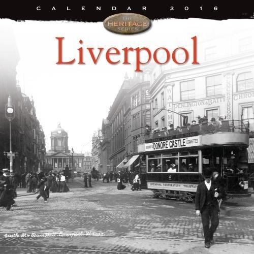 Liverpool wall calendar 2016 (Art calendar)