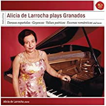 Alicia de Larrocha plays Granados