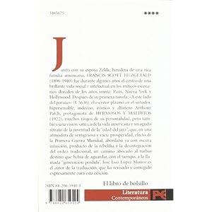 Hermosos y malditos (El Libro De Bolsillo - Literatura)