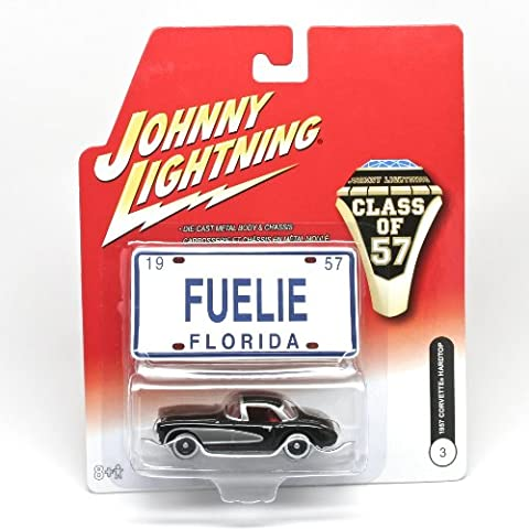 Johnny Lightning Class 0f 57 1957 Corvette Hardtop #3 by Johnny Lightning