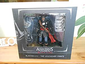 Assassins Creed IV Black Flag Blackbeard Figure TM - OFFICIAL COLLECTOR'S ITEM