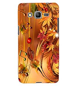 ColourCraft Beautiful Music Notes Design Back Case Cover for SAMSUNG GALAXY GRAND PRIME G530H