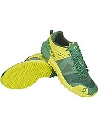 Scott Zapatillas de Running de Tela, sintético para Hombre Amarillo Yellow Black, Verde/