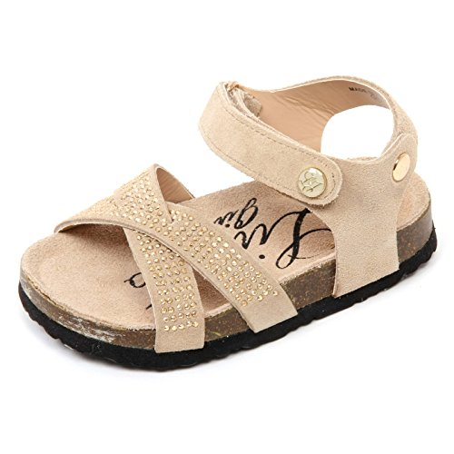 C9570 sandalo bimba LIU JO GIRL scarpa beige shoe kid [28]