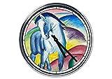 Wanduhr Mit Franz Marc - Blaues Pferd