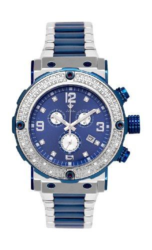NEU. Aqua Master Herren Armbanduhr Bicolor 20-diamond (Diamond Watch Aqua Master)