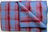 Wolldecke Wollplaid Tagesdecke Couchdecke Übergröße 140x220 cm 100% Merinowolle