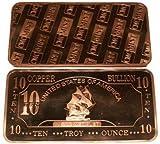 10 oz Kupferbarren Kupfer Segelschiff United States of America