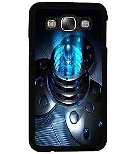 ColourCraft Digital Design Back Case Cover for SAMSUNG GALAXY E5