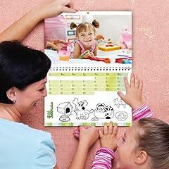 Idea Regalo - Calendario Personalizzato 12 pagine + Copertina (super A3)