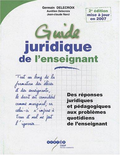 Guide juridique de l'enseignant