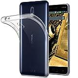 tomaxx Schutzhülle Nokia 5 Dual SIM & Nokia 5 Single Sim / Hülle Case Tasche Durchsichtig in Transparent
