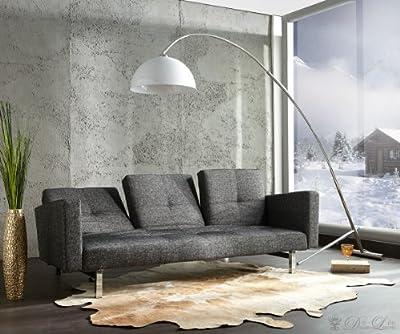 Bogenlampe Pisa Weiss 50x190 cm höhenverstellbar Stehleuchte von DeLife auf Lampenhans.de