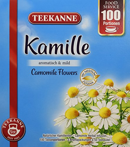 Teekanne Kamille, 2er Pack (2 x 120 g)