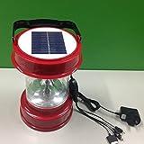 SHIQUNC Baladeuse ExtéRieur avec éClairage Domestique Chargeur De TéLéPhone Cellulaire LED Solaire 2W