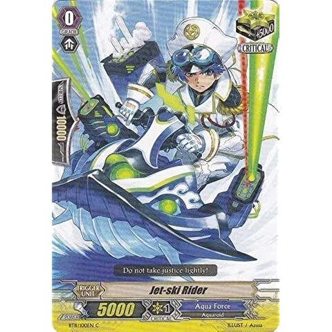 Cardfight!! Vanguard TCG - Jet-ski Rider (BT11/100EN) - Seal Dragons Unleashed by Bushiroad Inc.