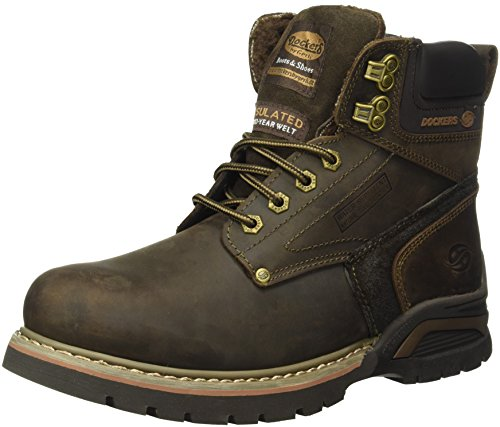 Dockers by Gerli 39th101-402320, Chaussures de Trekking et Randonn&Eacutee Homme, Braun (Café/Coffee)