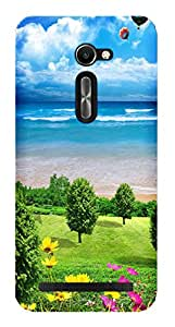 WOW Printed Designer Mobile Case Back Cover For Asus Zenfone 2 ZE500CL