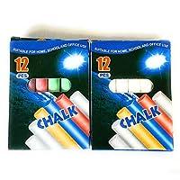 ASPIRE UK 1x White and 1x Colour Anti Dust Chalk